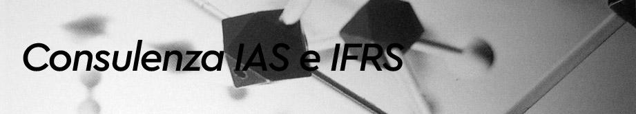 Consulenza IAS e IFRS